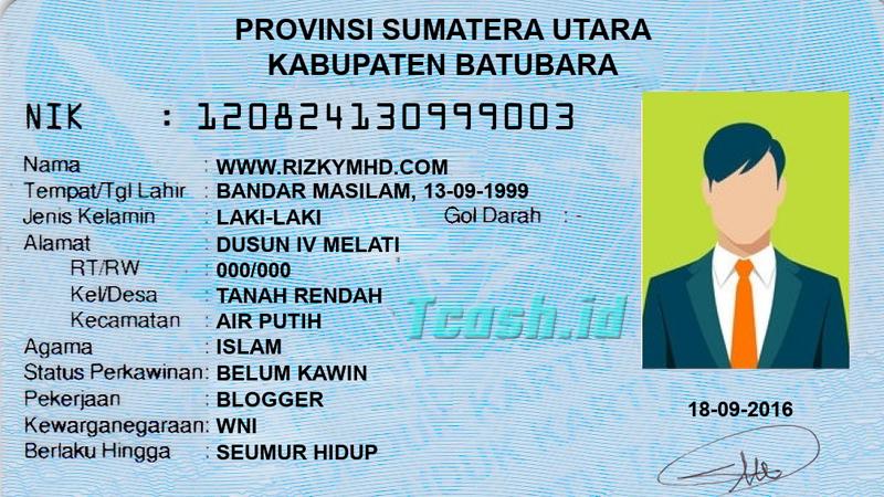 Standar Ukuran ID Card yang Bisa Dipilih sesuai Pekerjaan KTP