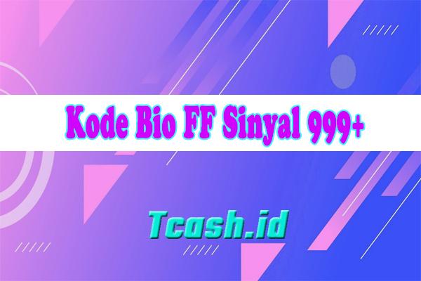 Kode Bio FF Sinyal 999+