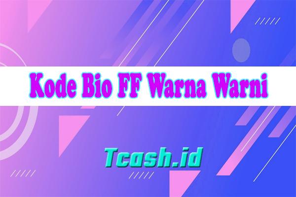 Kode Bio FF Warna Warni