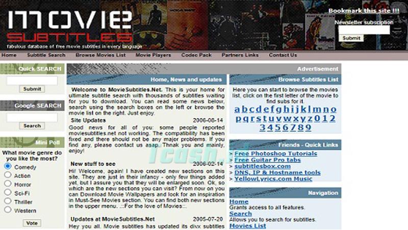 Situs Download Subtitle Indonesia MovieSubtitles