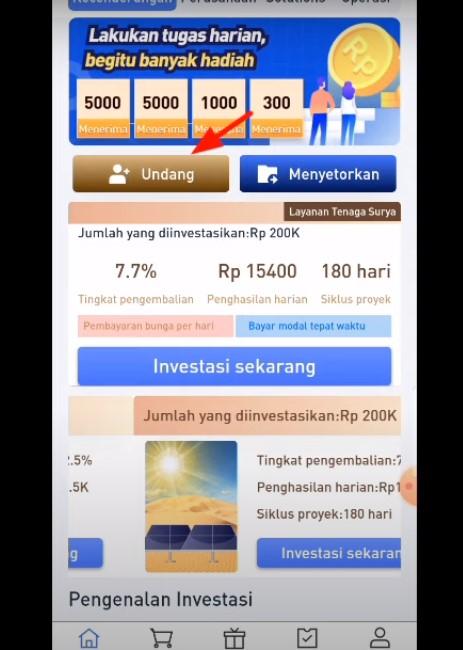 Langkah Memakai My Solar Power Aplikasi Penghasil Uang