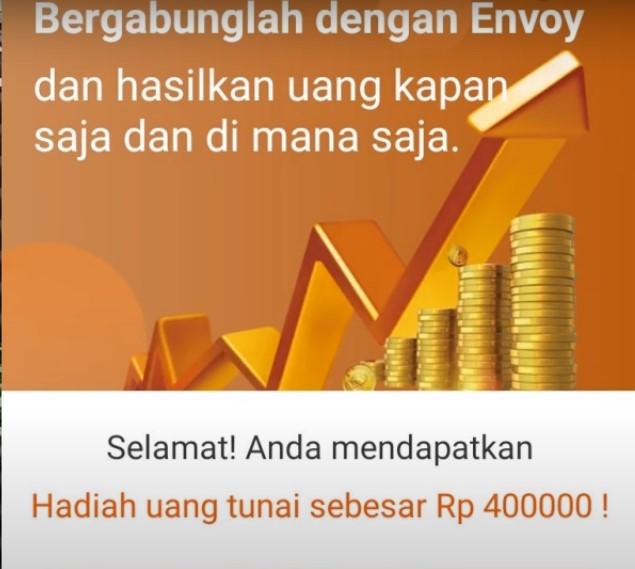 Sekilas Envoy Apk Penghasil Uang Download